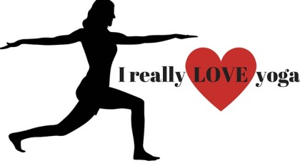 I really LOVE yoga