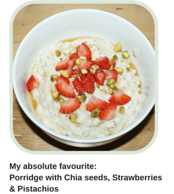 My all time favourite_Porridge with Chia