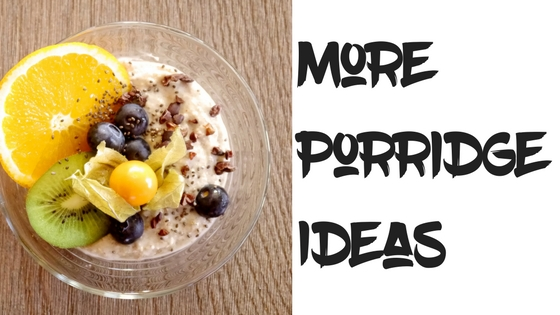 more porridge ideas