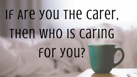 Are you a carer_who is looking after you_