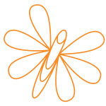 WHFS Logo-high res_Orange Butterfly